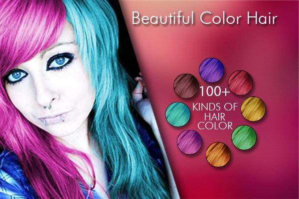 Change Hair And Eye Color 3.9 Screen 2