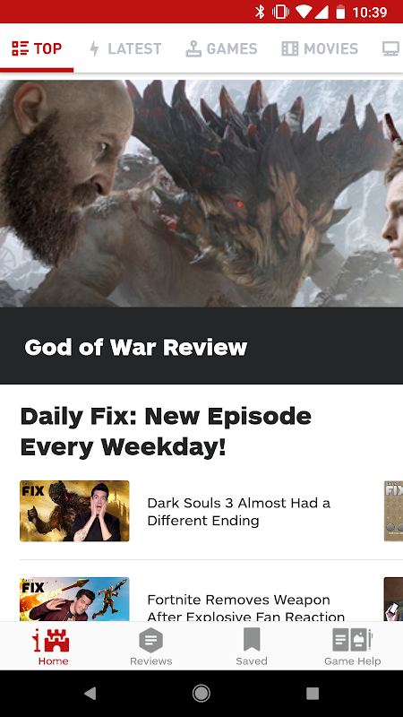 IGN Entertainment - Video Game Guides Reviews News 5.0.12 Screen 1