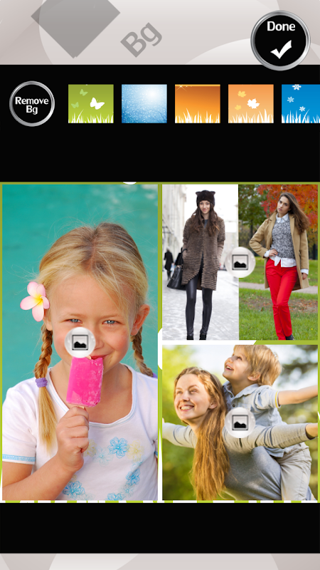 Android Four Seasons Photo Collage Screen 3