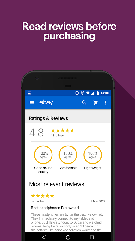 Android eBay - Buy, Sell & Save Money Screen 6