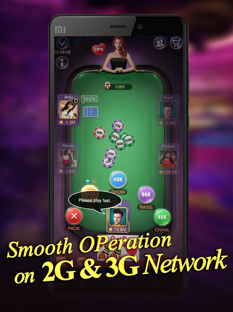 Android Teen Patti Raja- Indian poker and 3 patti free casino game Screen 11
