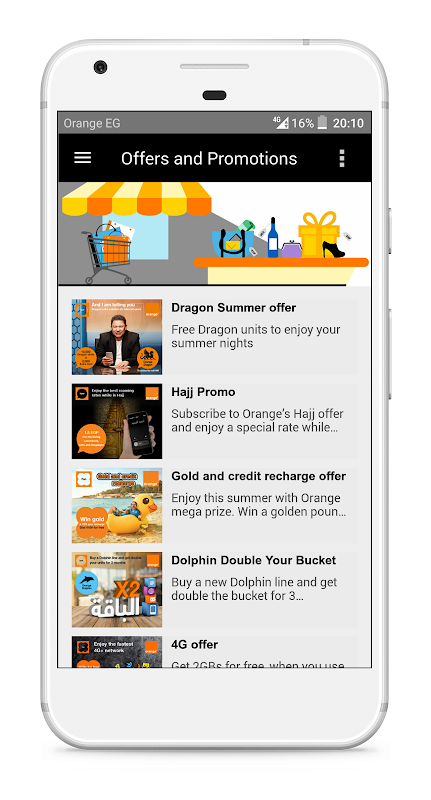 My Orange Egypt 2 8 2 APK Download by Mobinil | Android APK