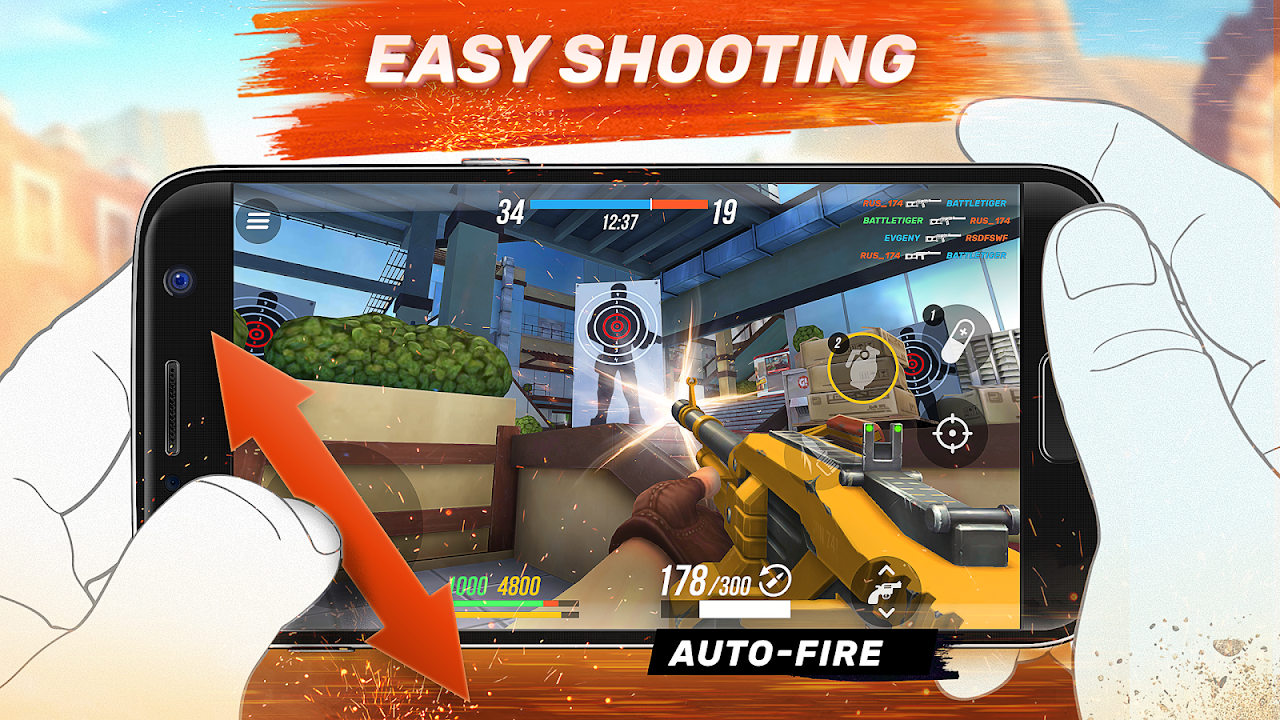 Android Guns of Boom - Online Shooter Screen 2