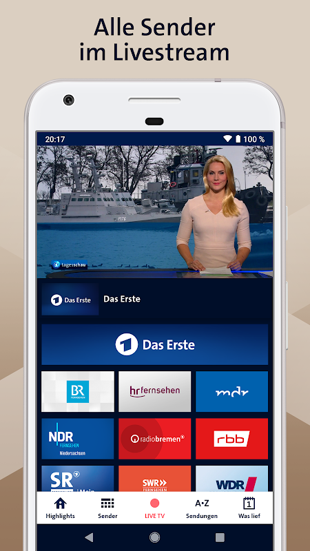 ARD Mediathek 7.6.0 Screen 2