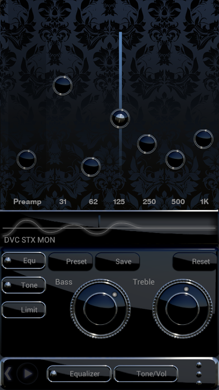 DEVANCE Poweramp skin 3.08 Screen 6