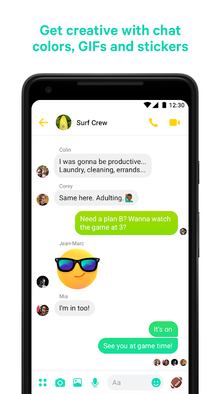 Messenger – Text and Video Chat for Free 203.0.0.0.55 Screen 2