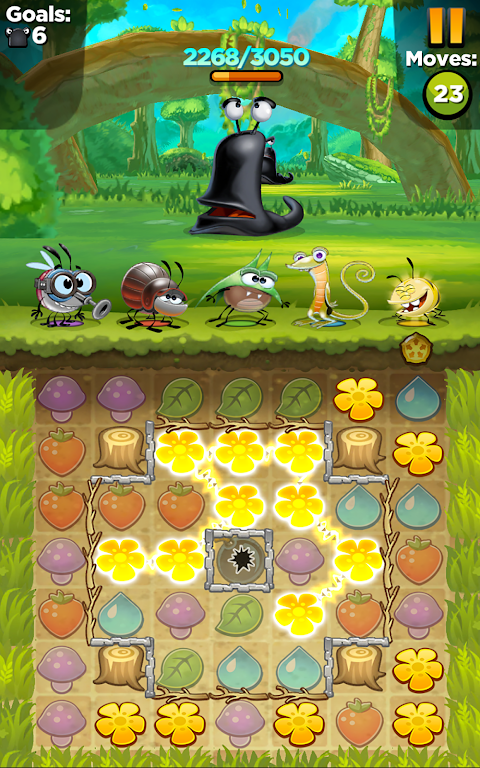 Android Best Fiends - Puzzle Adventure Screen 2