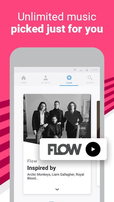 Deezer: Stream Music, Playlists, Albums & Songs 6.0.3.3 Screen 12
