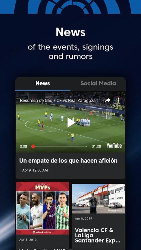La Liga - Spanish Football League Official 7.3.8 Screen 5