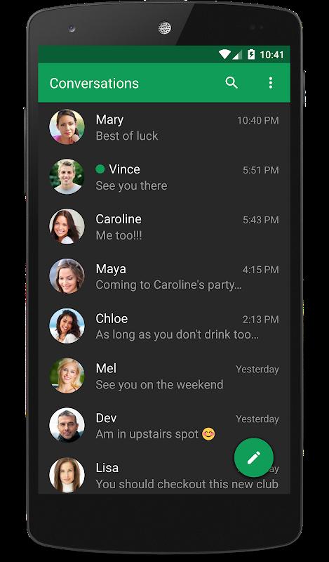 chomp SMS 8.10 Screen 1