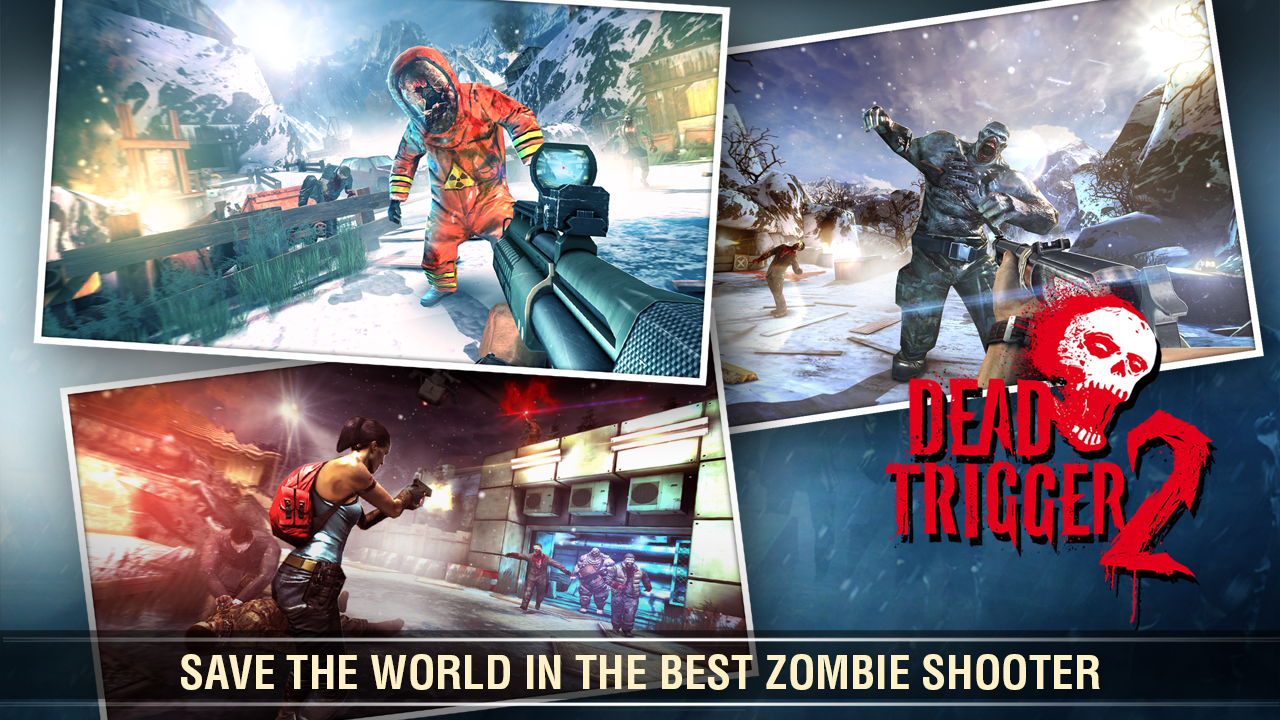 Android Dead Trigger 2: First Person Zombie Shooter Game Screen 3