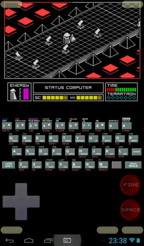 Speccy - ZX Spectrum Emulator 3.3.3 Screen 9