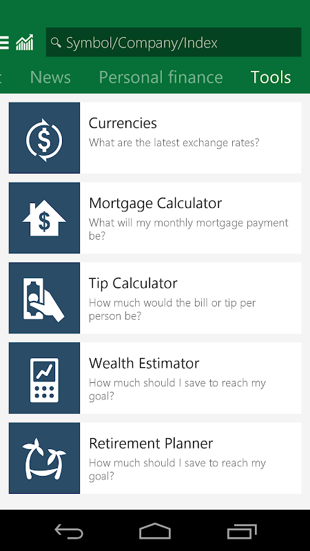 MSN Money – Stock Quotes 1 2 1 APK Download by Microsoft Corporation