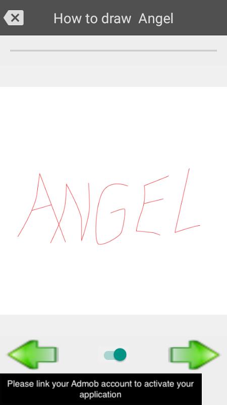 Android Draw graffiti 3D Screen 4