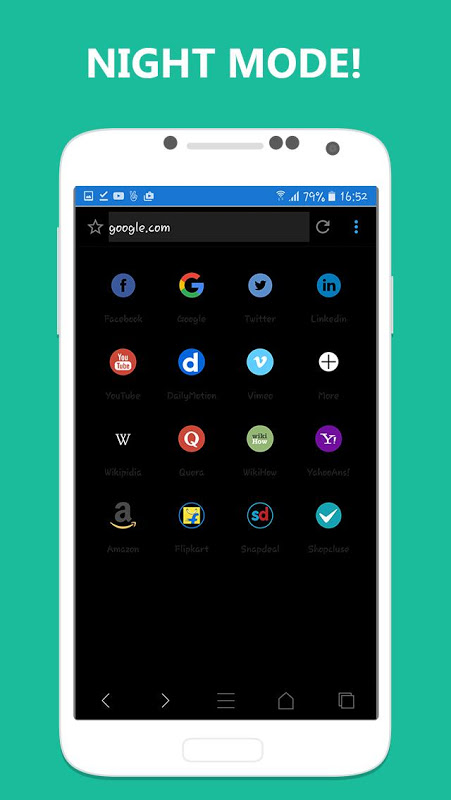 Android Adblocker Browser Screen 4
