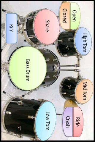 Android Drums Screen 2