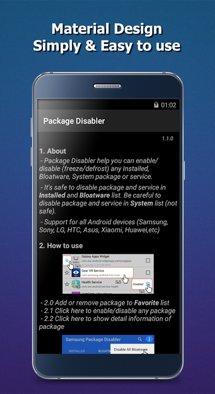 Package Disabler (All Android) APKs   Android APK