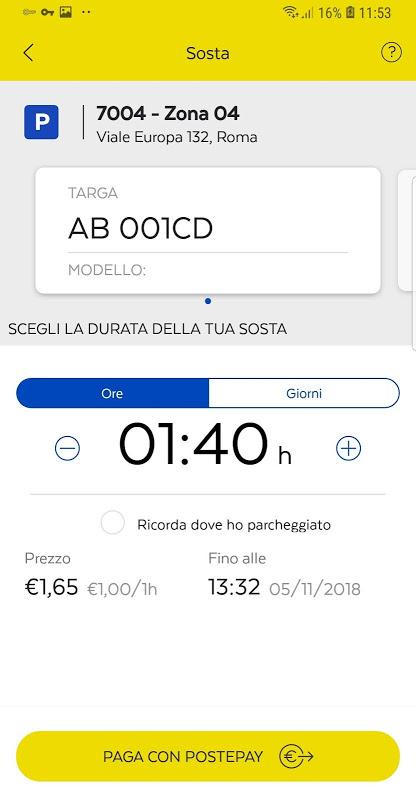 Postepay+ 1.0.2 Screen 2