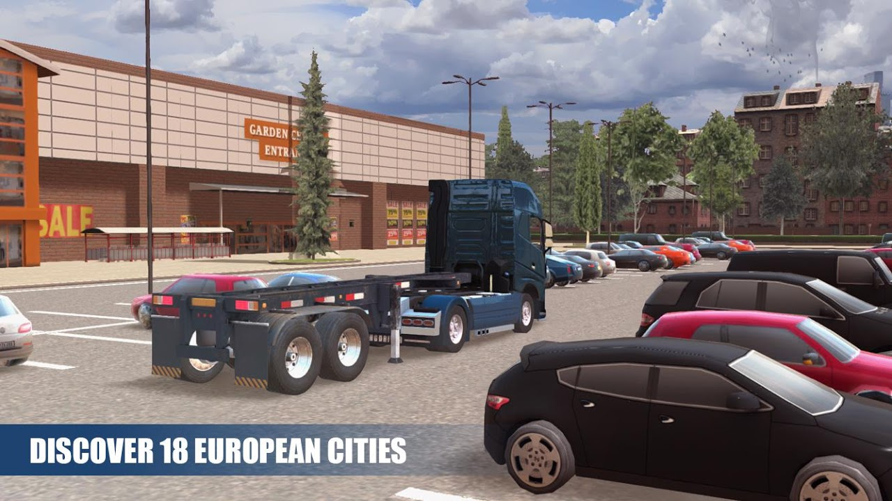 Truck Simulator PRO Europe 1.0 Screen 1