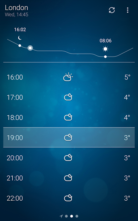 Weather 5.1.4 Screen 3