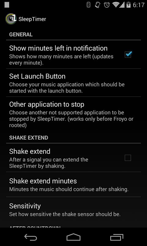 Sleep Timer (Turn music off) 2.0.3 Screen 11
