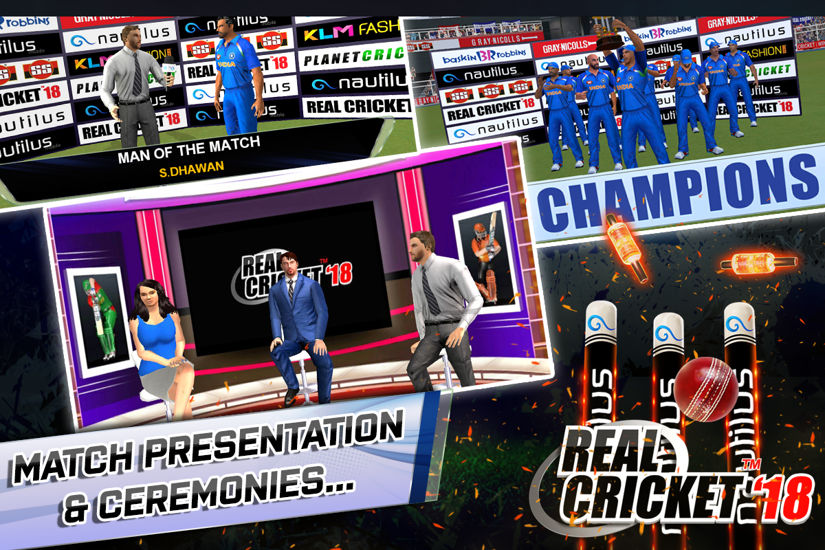 Real Cricket™ 18 1 4 APK Download by Nautilus Mobile