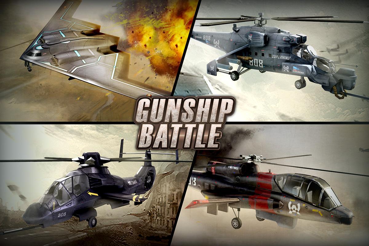 GUNSHIP BATTLE: Helicopter 3D 2.5.31 Screen 5