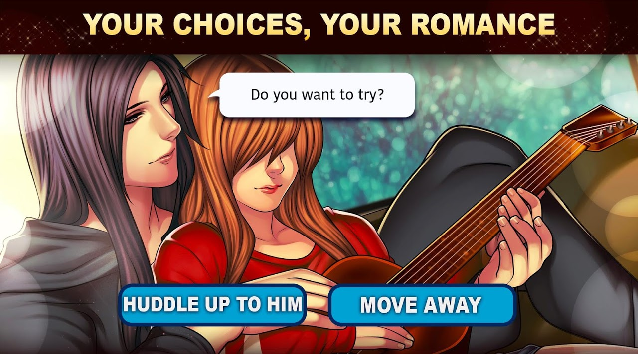 Android Is-it Love? Colin: Choose your story - Love & Rock Screen 10