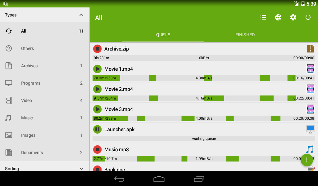 Advanced Download Manager 7.3.4 Screen 3