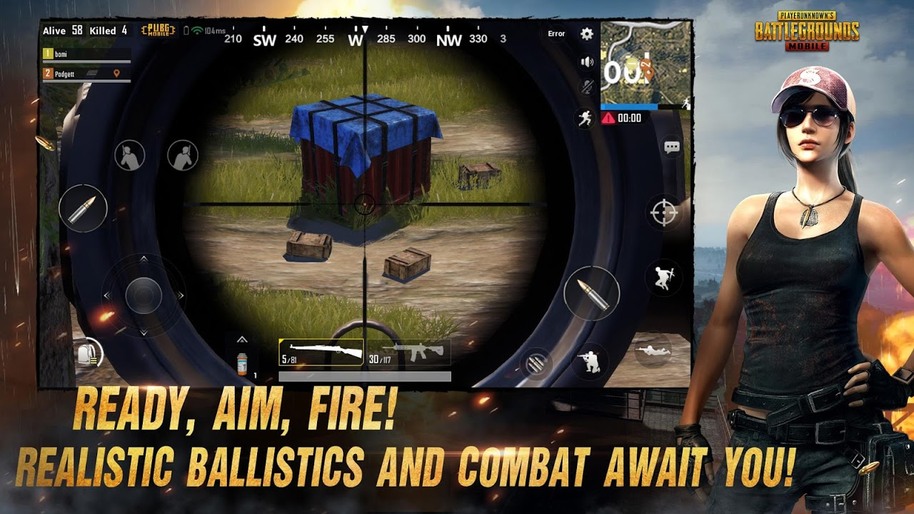 PUBG MOBILE 0.5.0 Screen 1