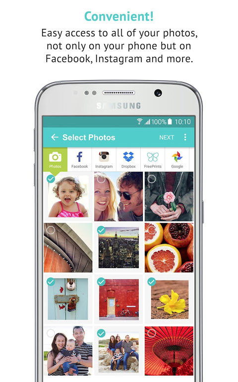 Android FreePrints - Free Photos Delivered Screen 2