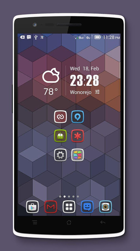 Android Tembus - Icon Pack Screen 3