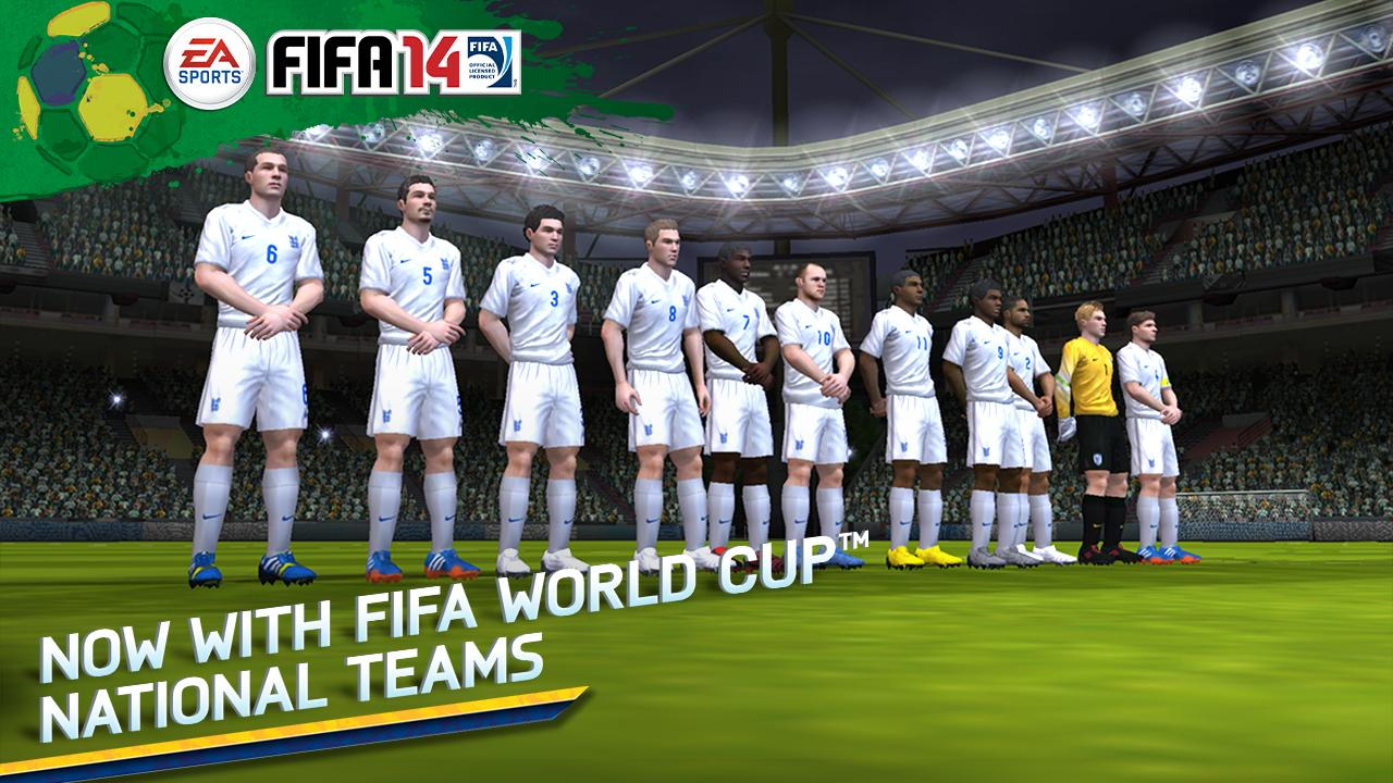 Android FIFA 14 International Screen 2