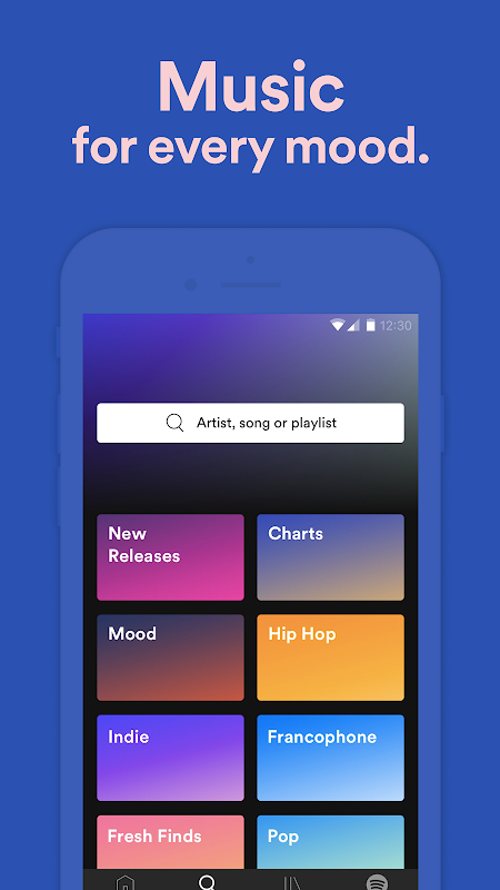 Android Spotify: Free Music Streaming Screen 9