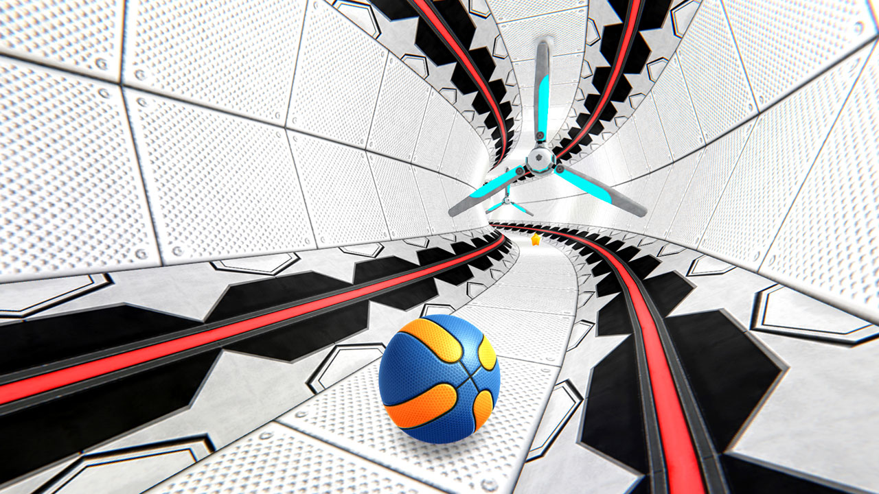 Android BasketRoll: Rolling Ball Game Screen 3
