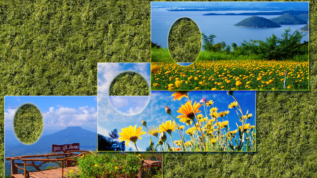 Android Nature View Photo Frames Screen 7