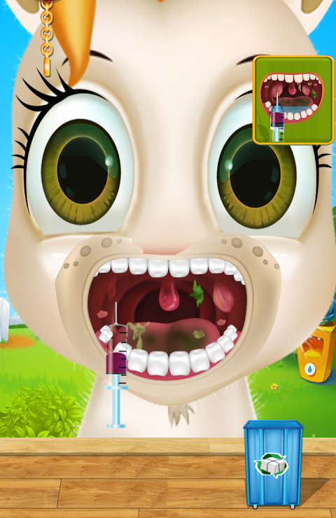 Android Dentist Pet Clinic Kids Games Screen 1