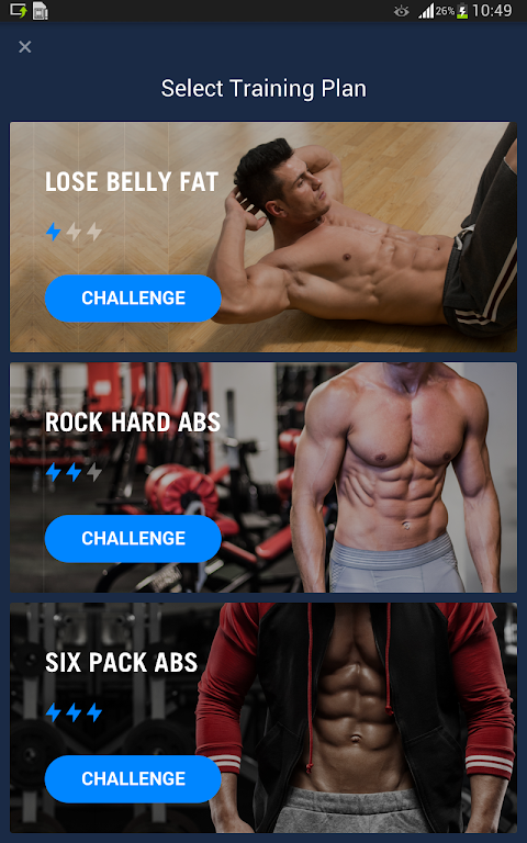 Six Pack in 30 Days - Abs Workout 1.0.10 Screen 5