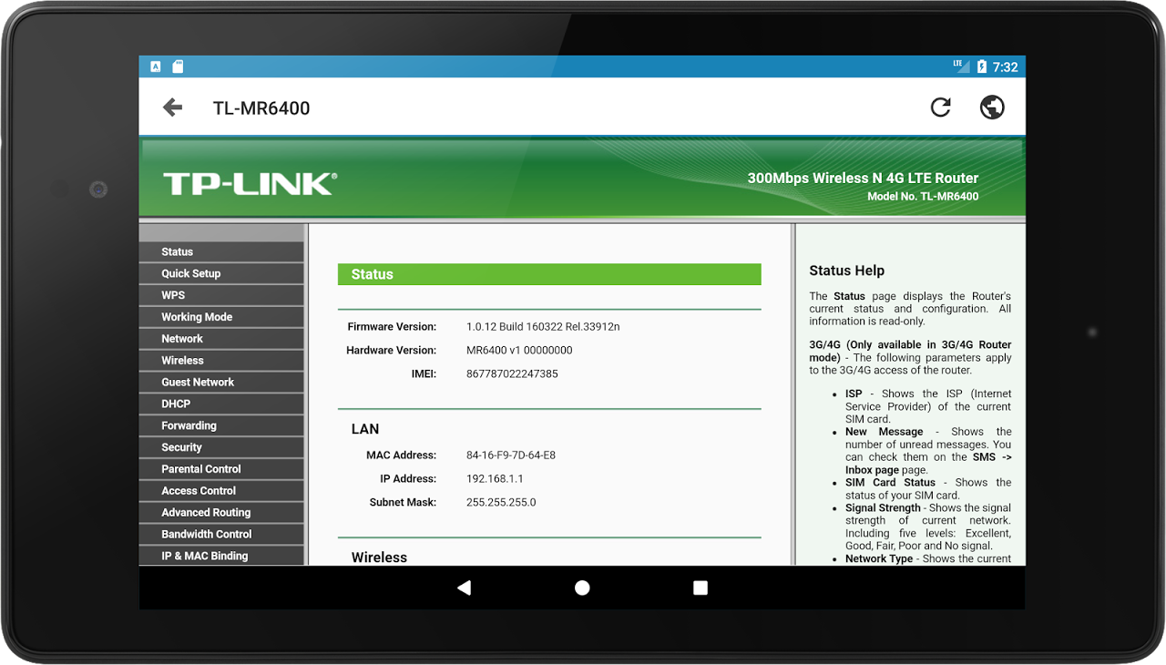 Android IP Tools: Network utilities Screen 8