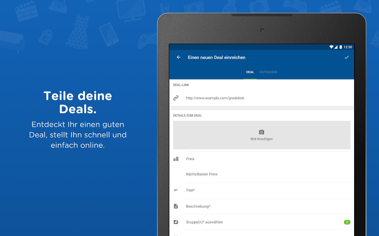 Android mydealz – Gutscheine, Schnäppchen, Angebote, Sale Screen 14