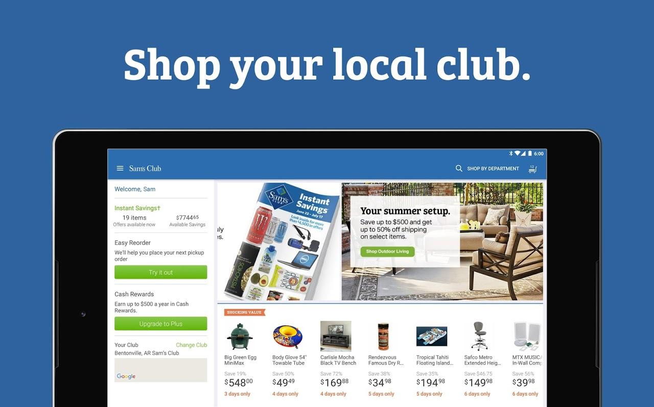 Sam's Club: Wholesale Shopping 5.12.1-(17.8.1) Screen 5