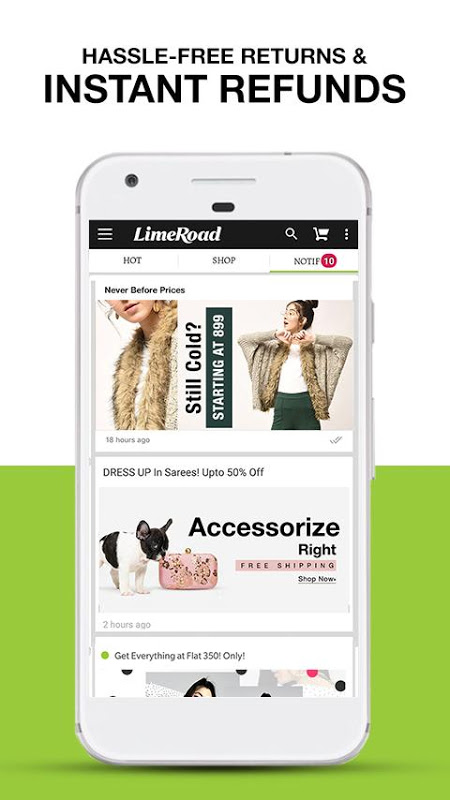 LimeRoad Online Shopping App 5.5.8 Screen 3