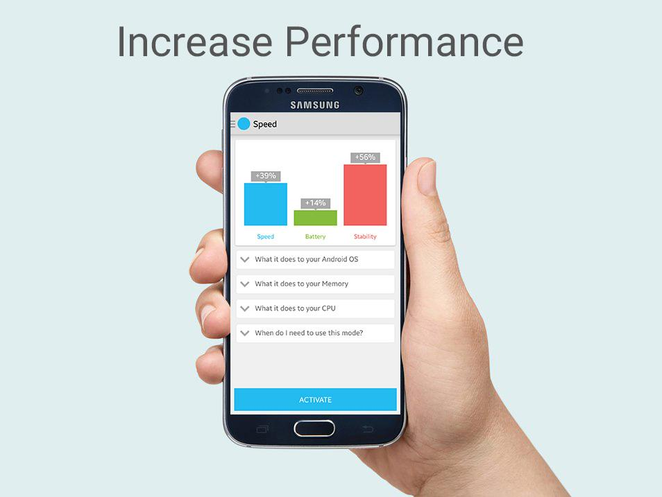 Android Octa-Core Processor Booster Screen 1