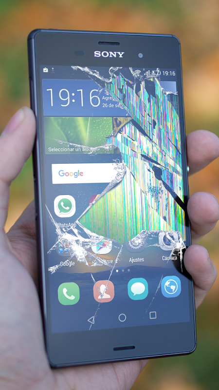 Android Cracked Screen Prank Screen 3