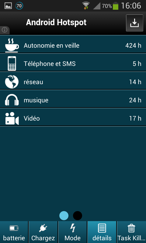 Battery Saver Pro 1.0 Screen 9