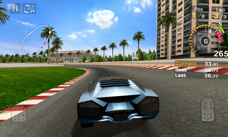Android GT Racing: Motor Academy Free+ Screen 3