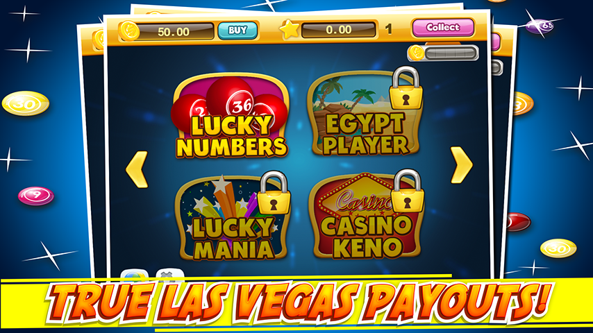 Android Las Vegas Keno Numbers Free Screen 2