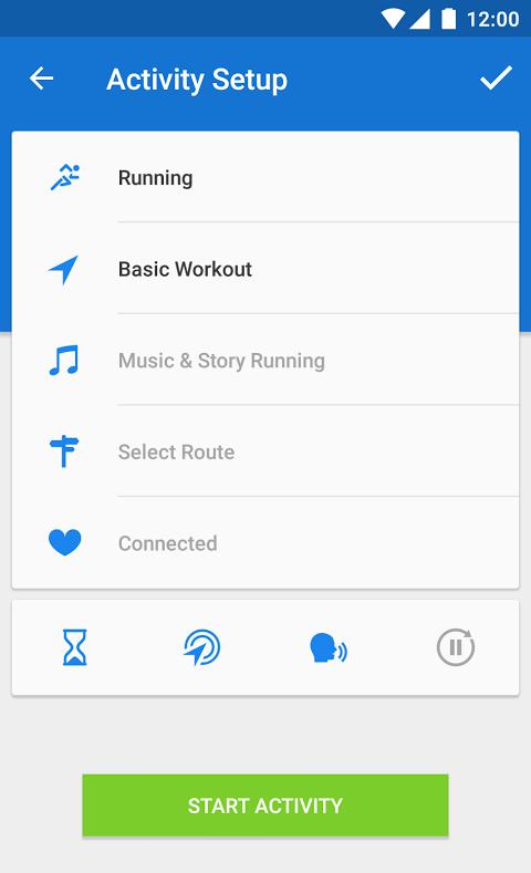 Runtastic PRO Running, Fitness 7.5.1 Screen 6