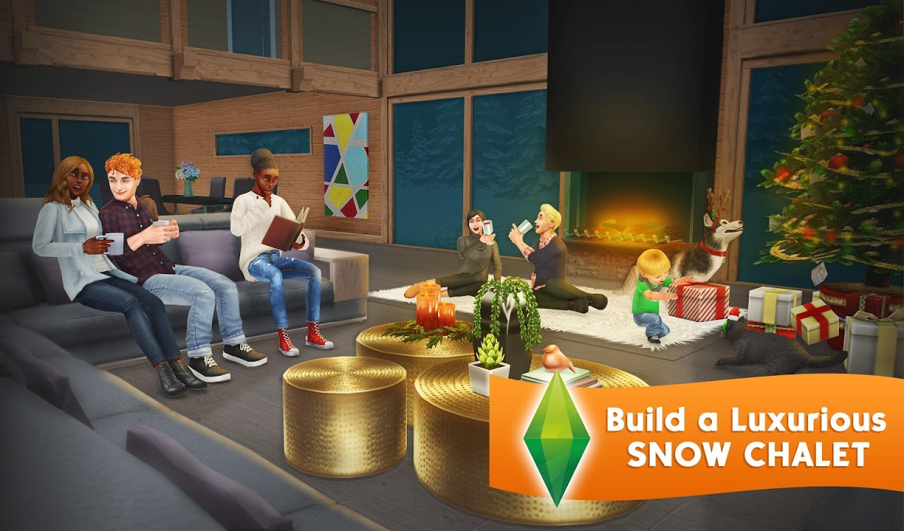 Android The Sims FreePlay Screen 11