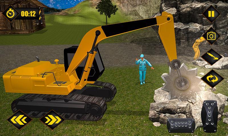Gold Mine Construction Zone 3D: Crane Operator Sim 1.0.5 Screen 5
